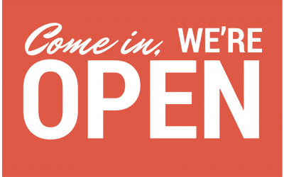 Our Door Is Open – But Closing Soon!