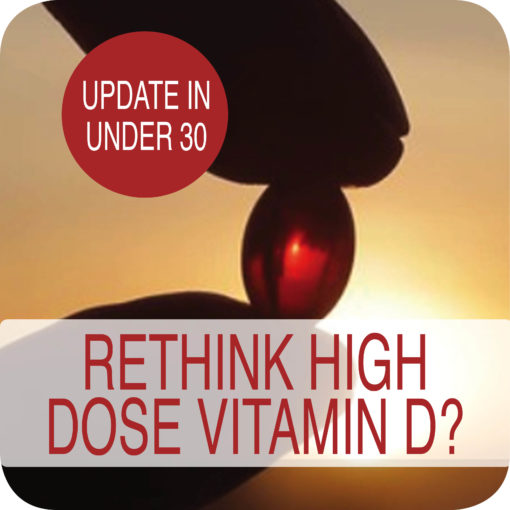 Rethink High Dose Vitamin D